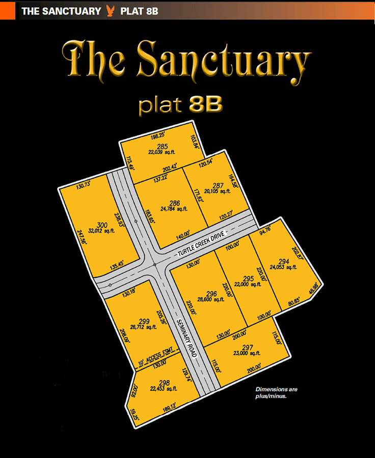 Sanctuary plat 8B lots for new home construction. One of the new home communities within The Sanctuary, extra large land for sale for homesites in Perrysburg, Ohio